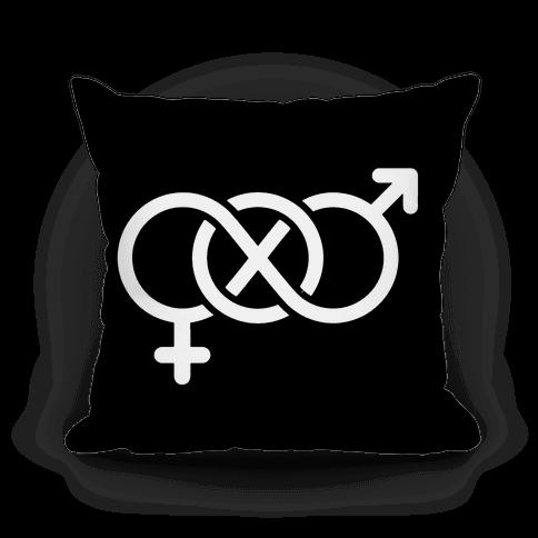 Bi Symbol Pillow