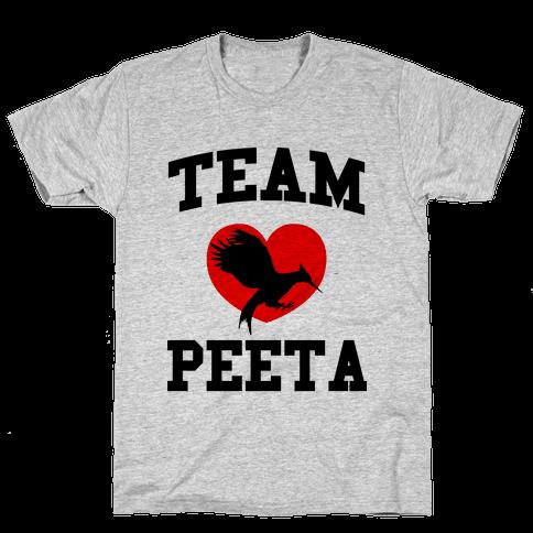 Team Peeta Mens T-Shirt