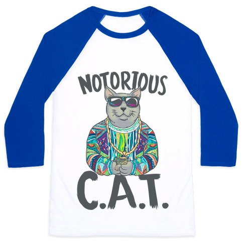 Notorious C.A.T. Baseball Tee