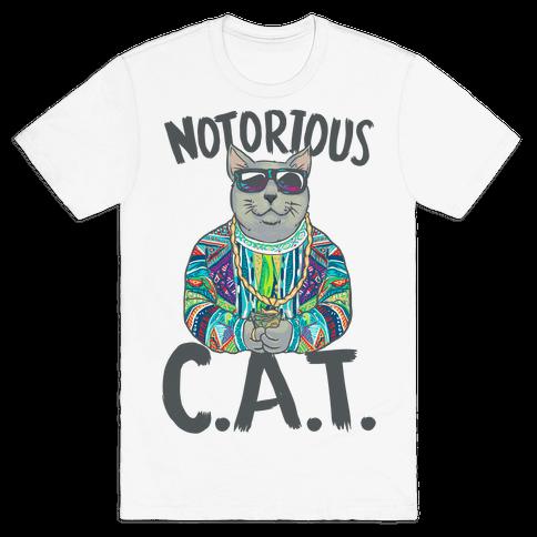 Notorious C.A.T. Mens T-Shirt