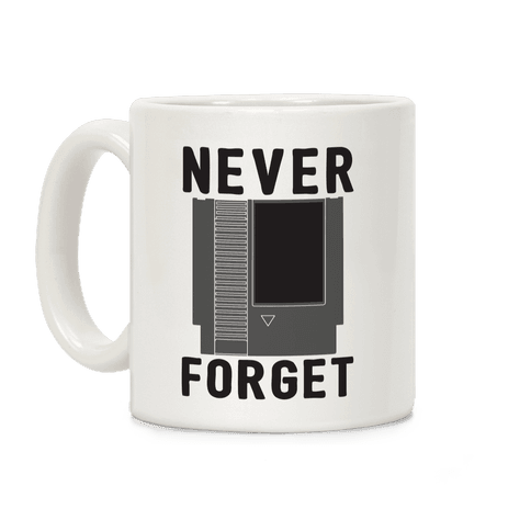 NES: Never Forget Coffee Mug