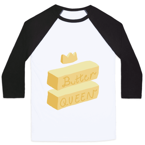 Butter Queen Baseball Tee