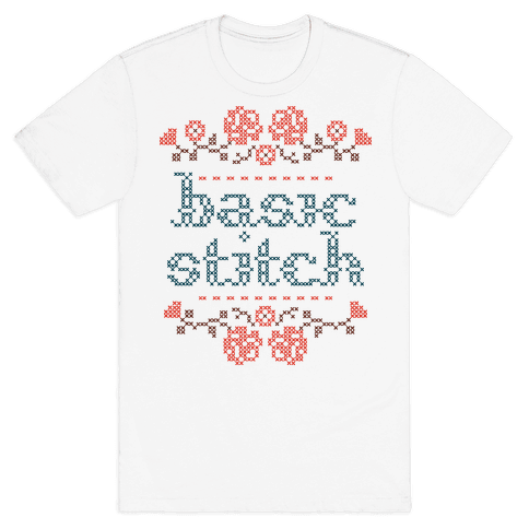 Basic Stitch Mens T-Shirt