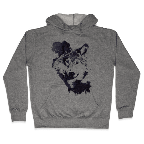 Space Wolf Hooded Sweatshirt