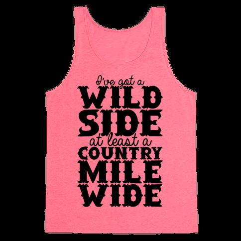 Wild Side Tank Top