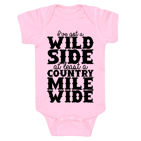 Wild Side Baby Onesy