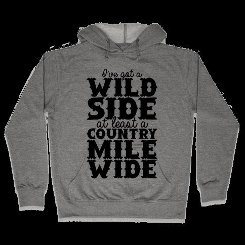 Wild Side Hooded Sweatshirt