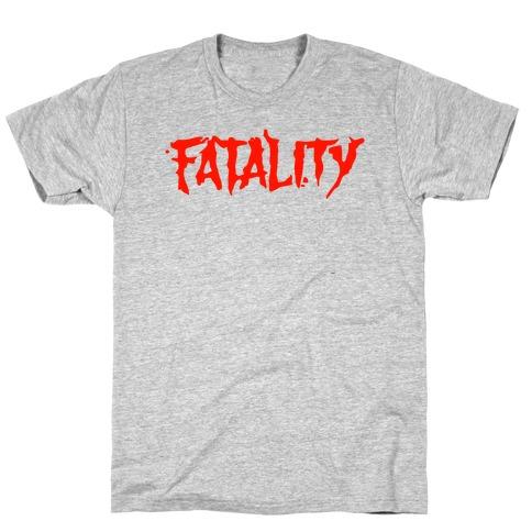 FATALITY (MORTAL COMBAT) Mens T-Shirt