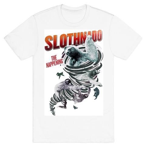 Slothnado: The Nappening T-Shirt