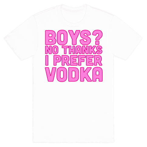 Vodka > Boys Mens T-Shirt