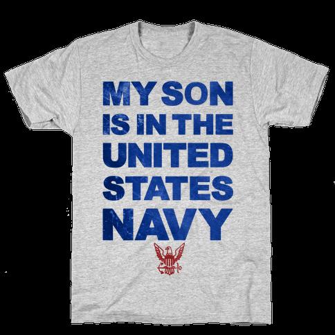 Navy Son Mens T-Shirt