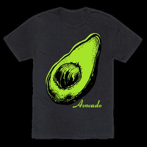 Pop Art Avocado