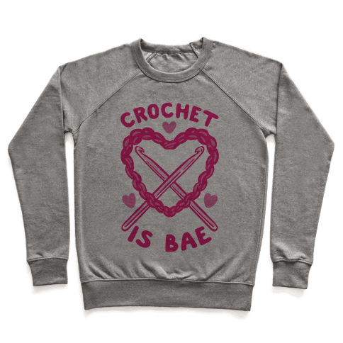 Crochet Is Bae Pullover