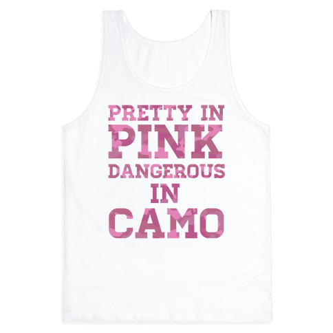 Dangerous in Camo Tank Top