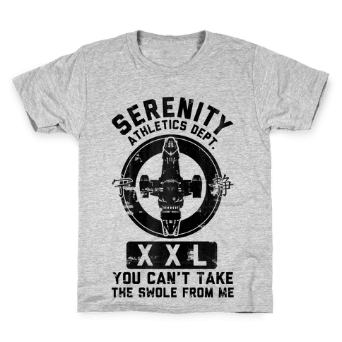 Serenity Athletics Department Kids T-Shirt