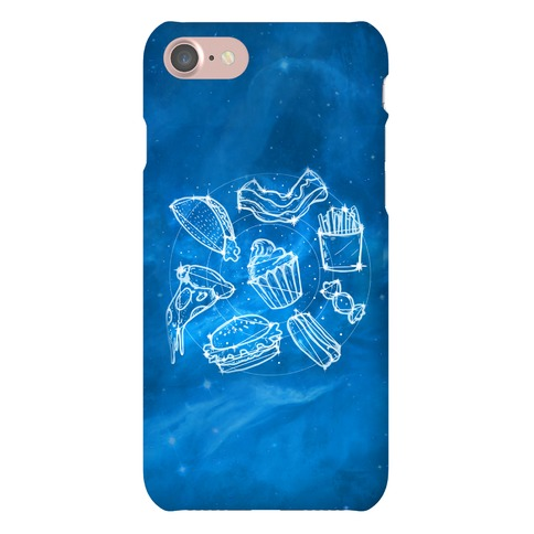 Junk Food Constellation Map Phone Case