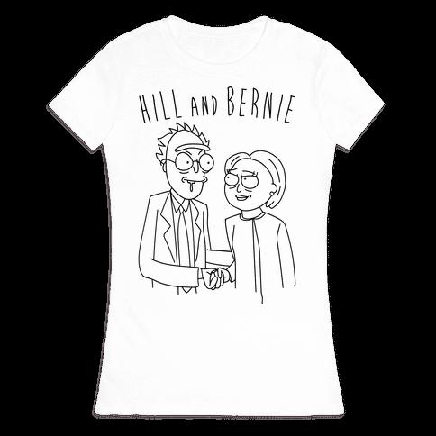 Hill And Bernie Parody Womens T-Shirt