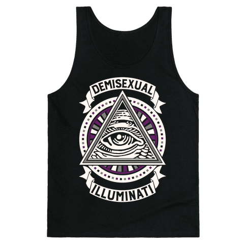 Demisexual Illuminati Tank Top