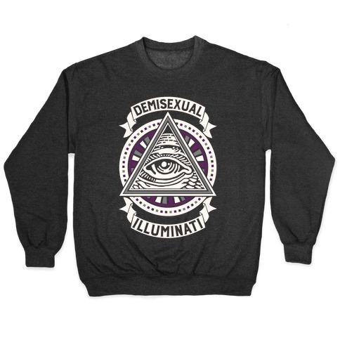 Demisexual Illuminati Pullover