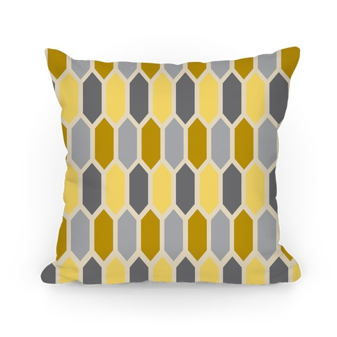 Yellow Crystal Pillow