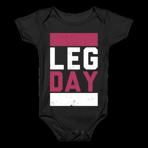 Leg Day Baby Onesy