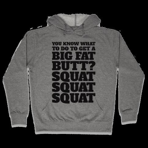 Wiggle Squats Hooded Sweatshirt