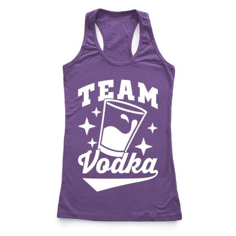 Team Vodka Racerback Tank Top