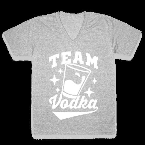 Team Vodka V-Neck Tee Shirt
