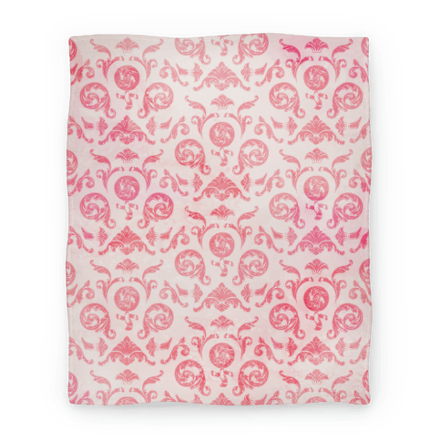 Female Toile Blanket
