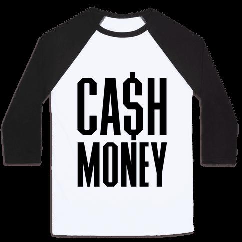 Cash Money Baseball Tee
