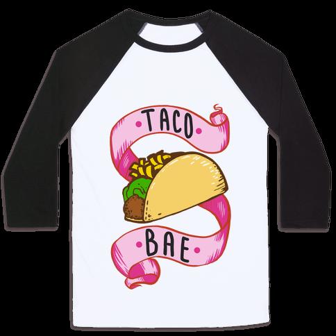 Taco Bae Baseball Tee