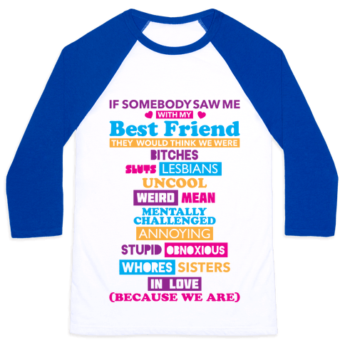 Best Friends Baseball Tee