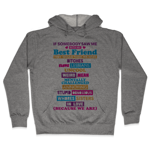 Best Friends Hooded Sweatshirt