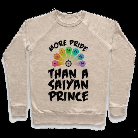 More Pride Than a Saiyan Prince Pullover