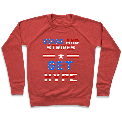 Stars And Stripes Get Hype Pullover
