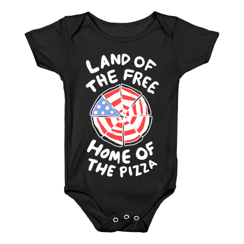 Land of the Free, Home of the Pizza Baby Onesy