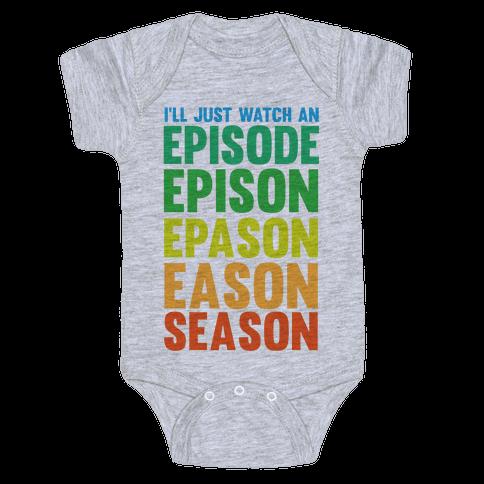 Episode...Season Baby Onesy