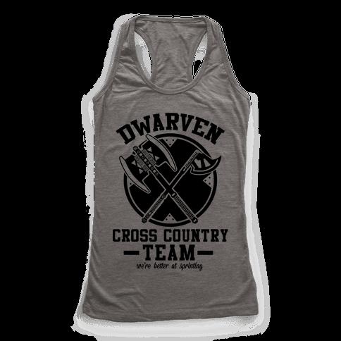 Dwarven Cross Country Team