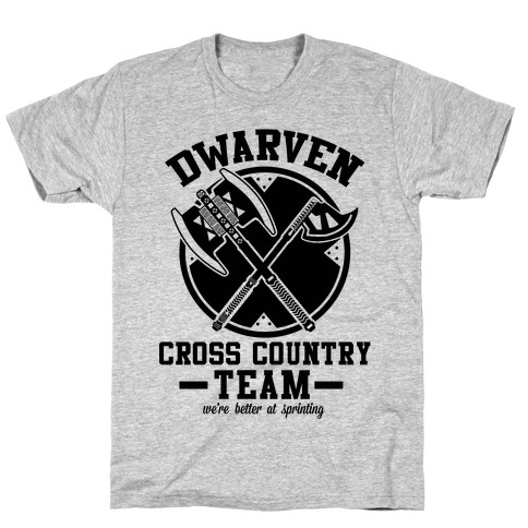 Dwarven Cross Country Team T-Shirt