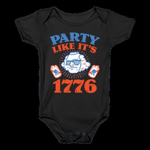 Party Like It's 1776 Baby Onesy