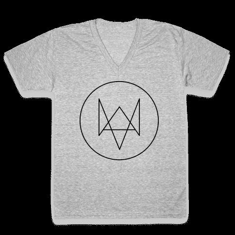 Aiden P. V-Neck Tee Shirt