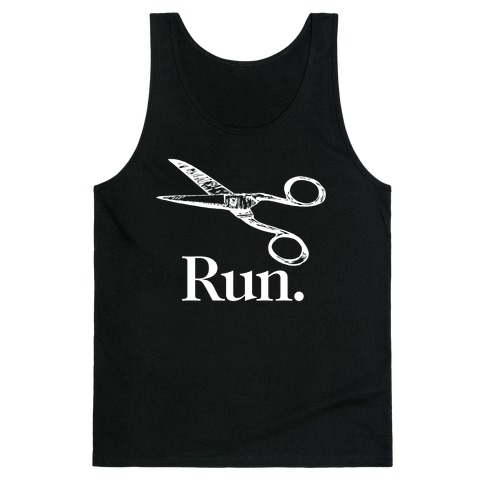Run With Scissors Tank Top