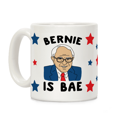 Bernie Is Bae Coffee Mug