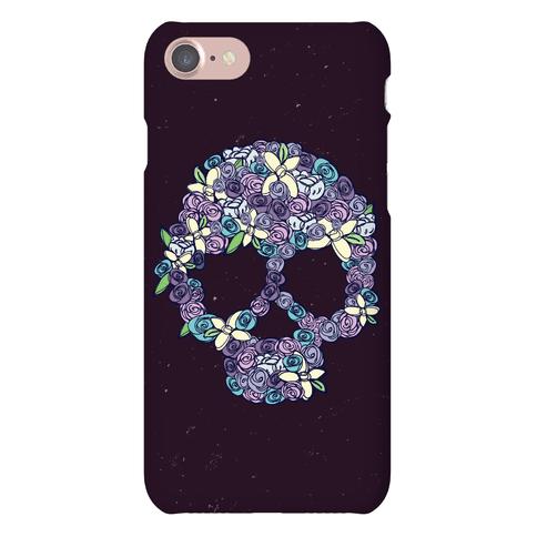 Floral Skull Phone Case