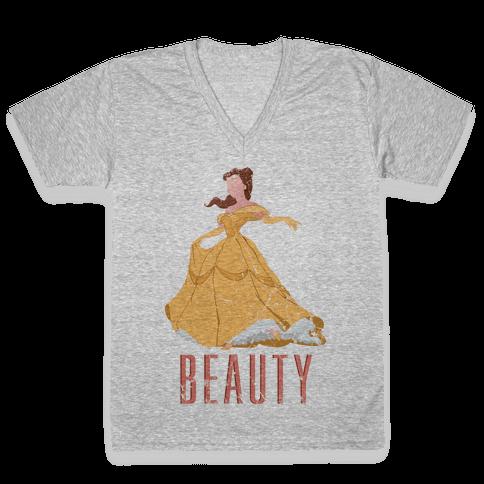 The Beauty V-Neck Tee Shirt