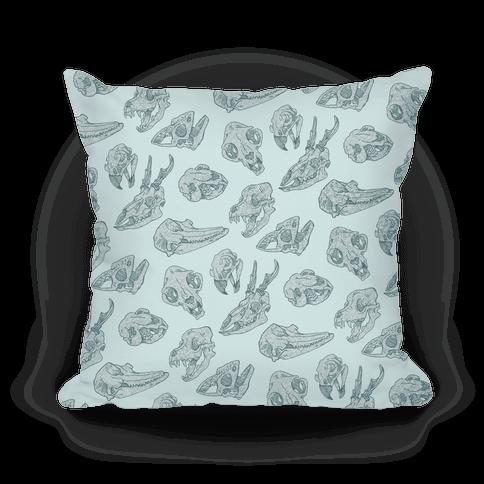 Animal Skull Pattern Pillows Human