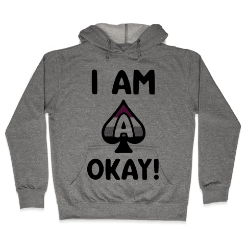 I Am A-Okay! Hooded Sweatshirt