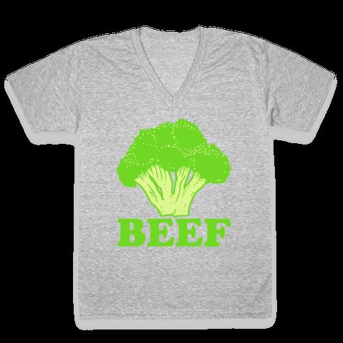 BEEF V-Neck Tee Shirt