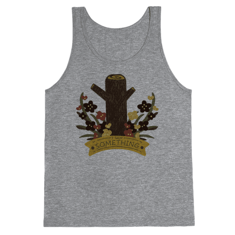 Log Lady's Log Tank Top