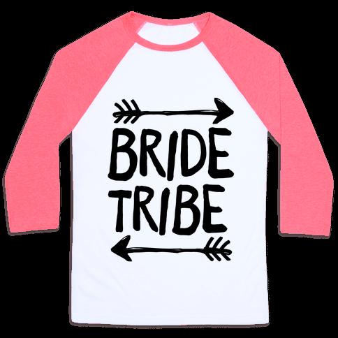 Bride Tribe Baseball Tee